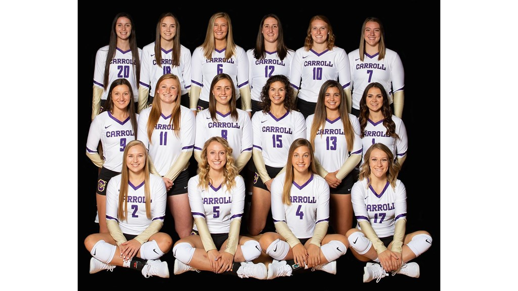 Carroll Volleyball Opens Regular Season Against Evergreen On Wednesday Frontier Conference
